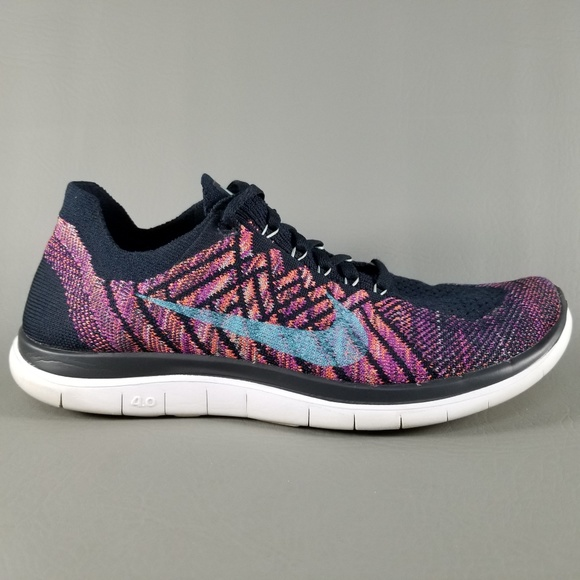 6cfbb6aadfa5d Nike Free 4.0 Flyknit Womens Running Shoes SZ 7.5.  M 5b97f45503087c46b48b1392